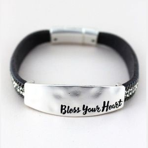 Bless Your Heart Bracelet